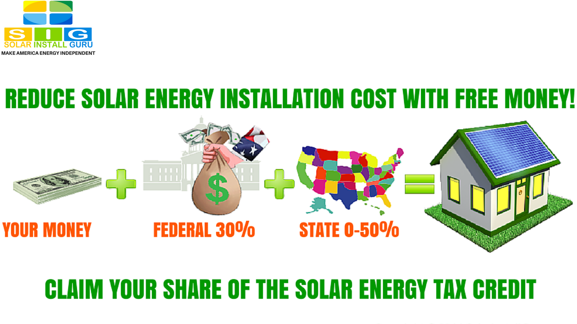 solar rebates and federal solar tax credit can slash cost by 80 percent