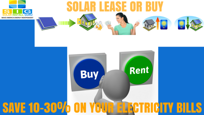 Solar Lease Vs Buy Which One Is Profitable For You Sig