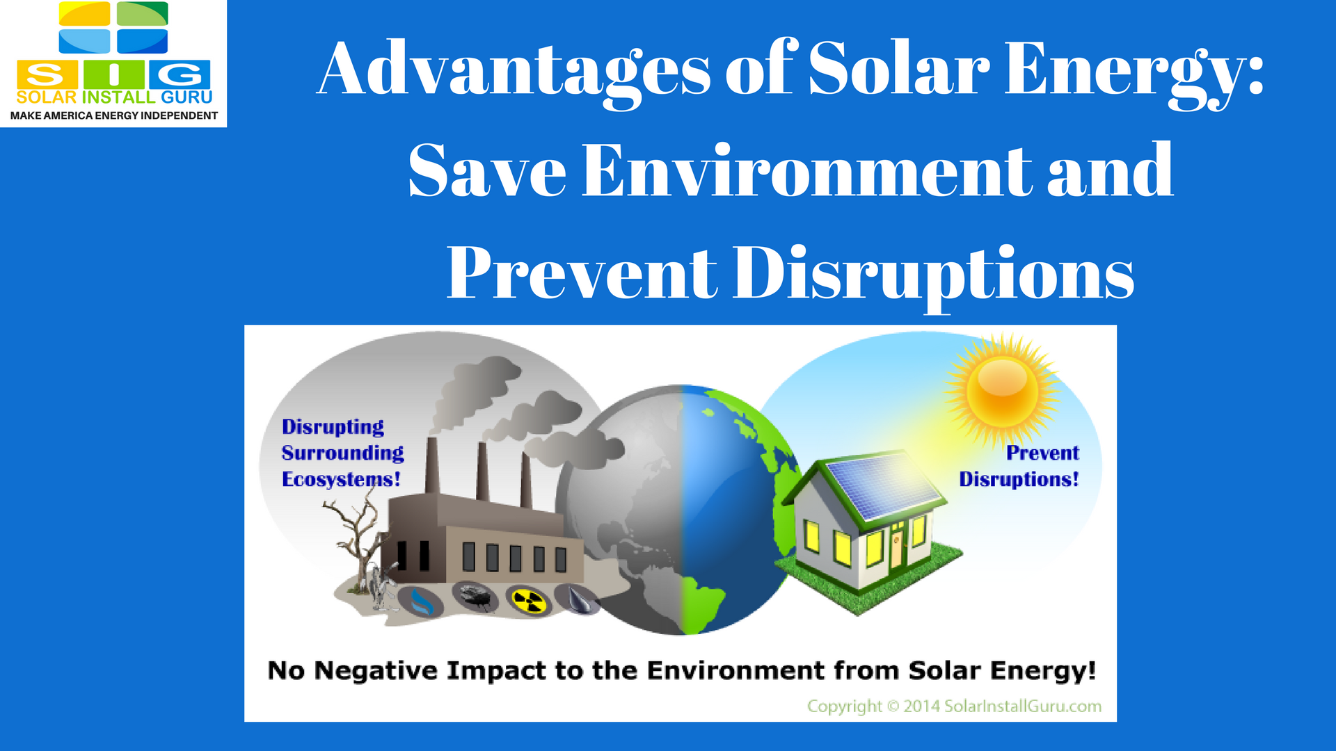 Advantages Of Solar Energy Save Environment And Prevent